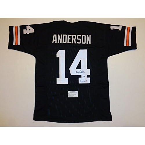 e72a1c49997 new Ken Anderson Signed Jersey - black 81 MVP Leaf  61197 - Autographed NFL  Jerseys