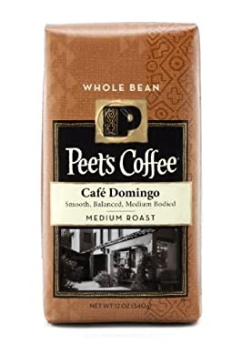 Peet's Coffee Cafe Domingo Blend, Whole Bean (Medium), 12 oz