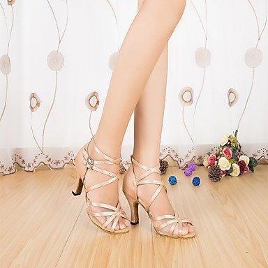 Zapatos Personalizables Negro Blanco Latino Personalizado Moderno Salsa baile almond de Tacón Rojo ZwZfqBC