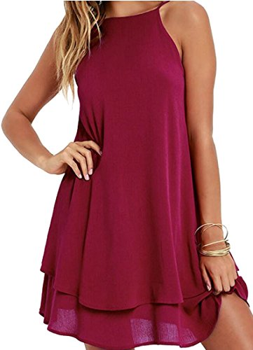 backless halter neck peplum dress - 8