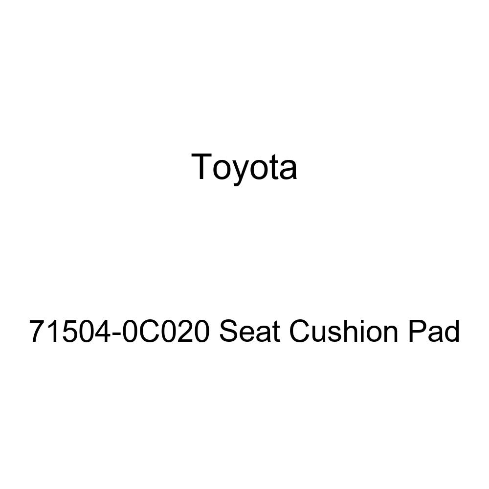 Toyota Genuine 71504-0C020 Seat Cushion Pad