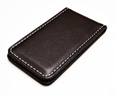 Fine Leather Magnetic Money Clip
