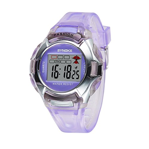 Price comparison product image Auspicious beginning Outdoor Sports Waterproof With Luminous Alarm Digital Electronic Watch For Children
