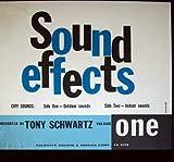 Tony Schwartz – Sound Effects, Volume One, City Sounds Outdoor/Indoor Sounds. LP (1960)