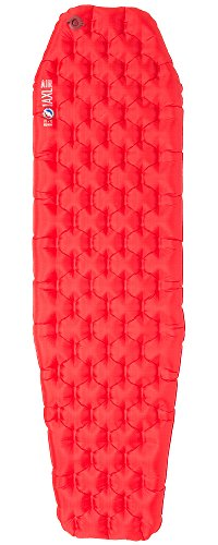 Mummy Pad - Big Agnes Insulated AXL Air Sleeping Pad, Red, 20x72 Regular Mummy