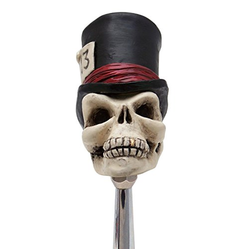 American Shifter 96214 Timmy The Top Hat Skull Shift Knob
