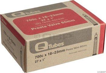 Q-Tubes 700c x 18-23mm 32mm PRESTA valve tube 100g ()