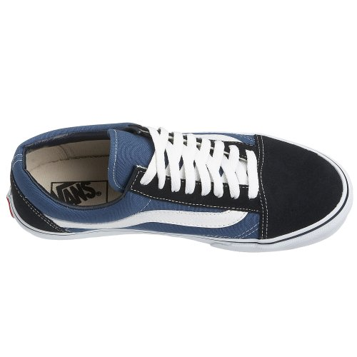 Vans Unisex Old Top Adults' Skool Navy Trainers Low TrUEqTx