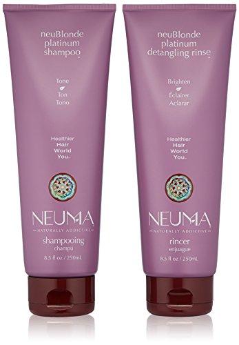 NEUMA Neublonde Plantinum Shampoo & Conditioner with Free Ha