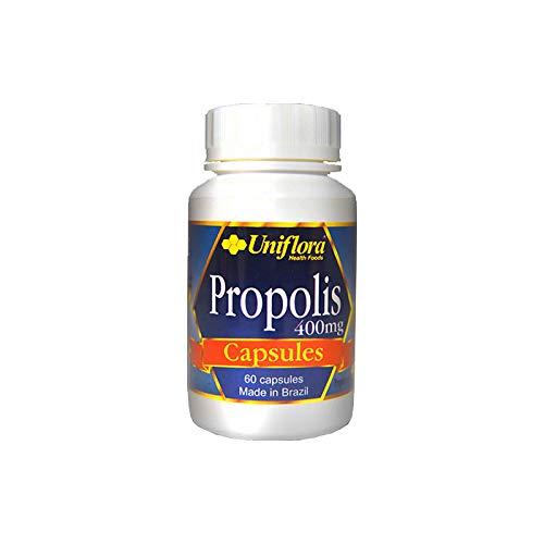 Uniflora® Ultra Green Propolis 400mg Capsules (60 caps)