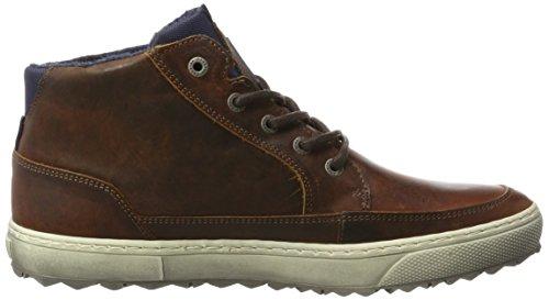 Gaastra Crossjacks Chk Nappa M, Sneaker a Collo Alto Uomo Beige (Cognac)