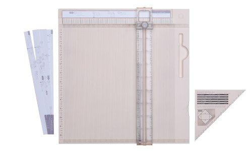 Martha Stewart Crafts Deluxe Scoring Board with Paper Trimmer