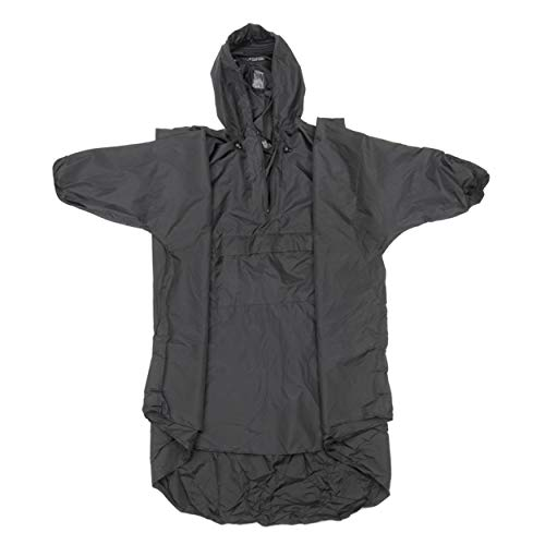 Snugpak Patrol Poncho, Waterproof, One Size, Lightweight, Suitable for Hiking, Camping, and Hunting, Black
