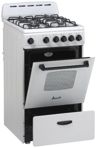"Price comparison product image Avanti Model GR2011CW - 20"" Gas Range"