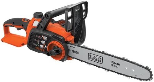 BLACK DECKER 40V MAX Cordless Chainsaw, 12-Inch LCS1240