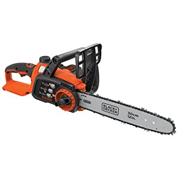Image of BLACK+DECKER 40V MAX Cordless Chainsaw, 12-Inch (LCS1240) Home Improvements