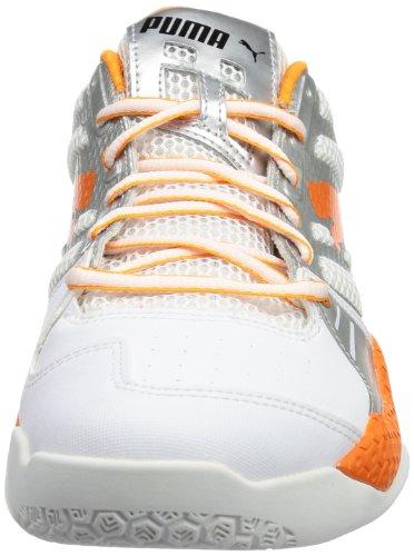 Puma Vindicate 1.2 102825 - Zapatillas deportivas para hombre blanco - Weiß (white-vibrant orange-puma silver 02)