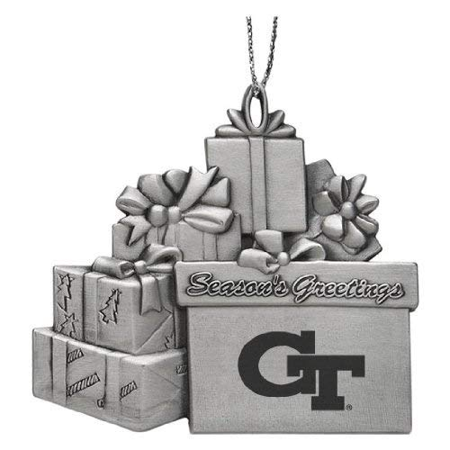 Georgia Tech - Pewter Gift Package - Holiday Georgia Tech Ornament
