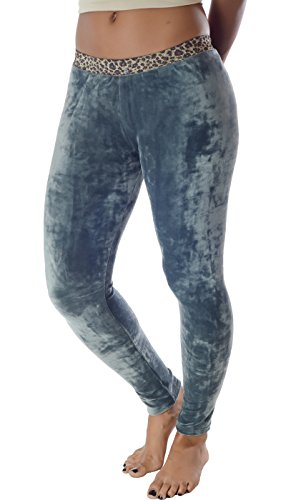 Hey Collection Women's Velour Leggings