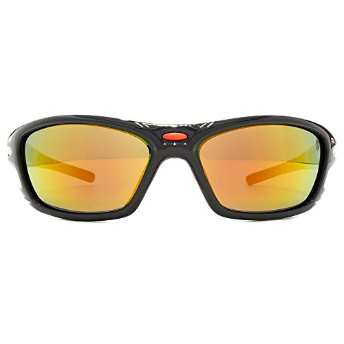 STORM Cragaleus Sunglasses in Black Red 9STEC522-2 One Size Red Mirror Black Red