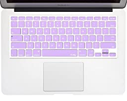 Kuzy - Light Purple Keyboard Cover Silicone Skin for MacBook Pro 13\