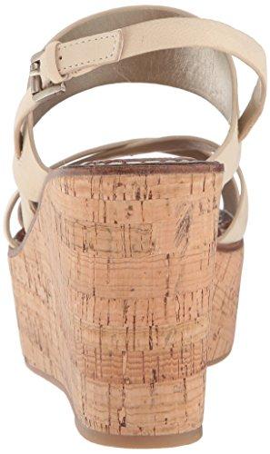 Sam Edelman Womens Dali Wedge Sandal Saddle Kid Suede Leather