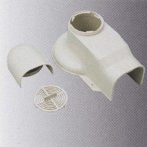 桃陽電線 20個セット 《トーヨーダクトシリーズ》 排塵換気ビッグキャップ 80タイプ ホワイト DHBC-80WH_set B009YRJYMU