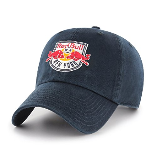 MLS New York Red Bulls OTS Challenger Adjustable Hat, Navy, One Size