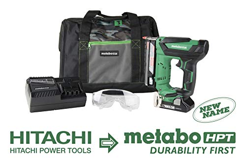Metabo HPT NP18DSAL 18V Cordless Pin Nailer Kit, 5/8-Inch up to 1-3/8-Inch Pin Nails, 23-Gauge, 3,000 Nails Per Charge, Compact 3.0 Ah Lithium Ion Battery, Holds 120 Nails, Lifetime Tool Warranty