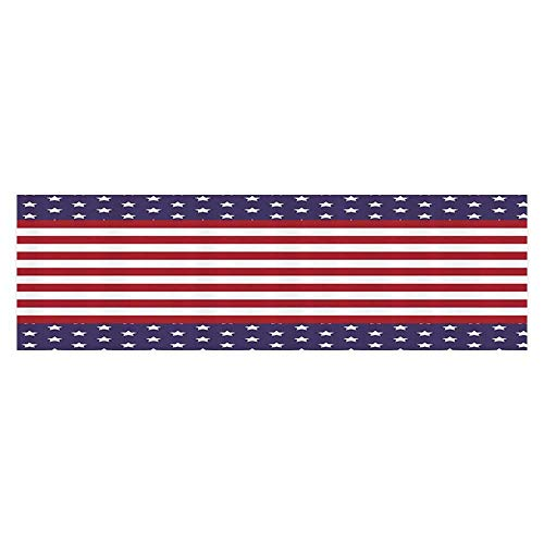 Golden Royalty Mask - UHOO2018 Decor Paper Cling Decals Sticker American Flag with Stars Stripes USA State Royalty Emblem Natial Country Aquarium Sticker Wallpaper Decoration 23.6