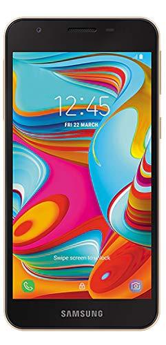 (Samsung A2 Core 4G LTE Factory Unlocked Dual Sim 16GB (SM-A260G/DS) International Version, No Warranty (Gold))