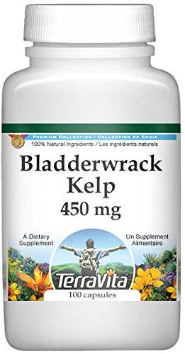 Bladderwrack Kelp - 450 mg (100 capsules, ZIN: 510967)