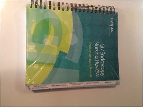 Gratis e-bøger til download til ipad GI/ Endoscopy Nursing Review: Certification Study Manual PDF
