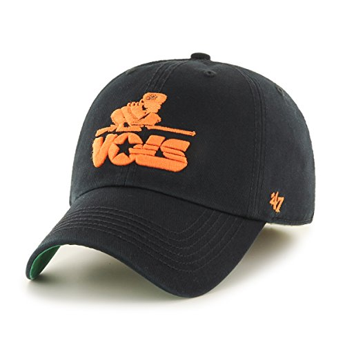 '47 NCAA Tennessee Volunteers Franchise Fitted Hat, Black 2, Medium