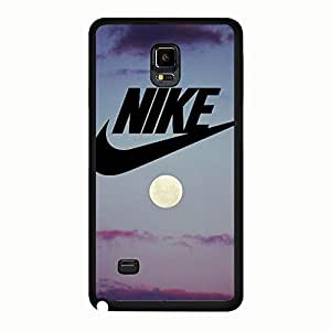 Charming Sunset Pattern Design Nikee Phone Case Fantastic Hard Cover Case For Samsung Galaxy Note 4