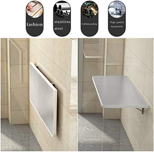 Skrivbord på väggen, fällbart matbord, hörnbord, kökshylla för hem, maximal belastning 55 kg