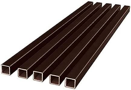 Fiberon (4 Packs of 5) Homeselect Chestnut Brown Composite ...