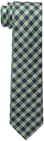 Tommy Hilfiger Men's Color Gingham Skinny Tie