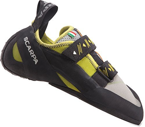 SCARPA Vapor V Men's Rock Climbing Shoe, Lime, 40