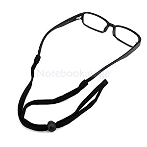 Shalleen Black Neck Cord Lanyard Glasses Strap Spectacle Holder Sunglasses Band Sport