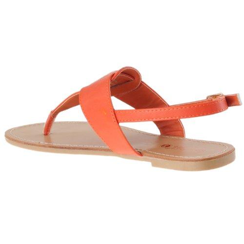 Womens strap Bamboo Orange T Womens Sequoia Bamboo Sandals PxpqxwT