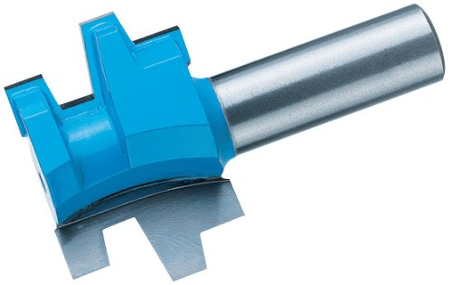 Reversible Tongue and Groove Wedge, 1/2-Inch Shank (Wedge Groove Bit)