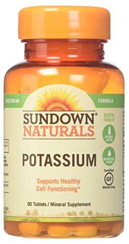 Sundown Naturals Potassium 90ct For Sale