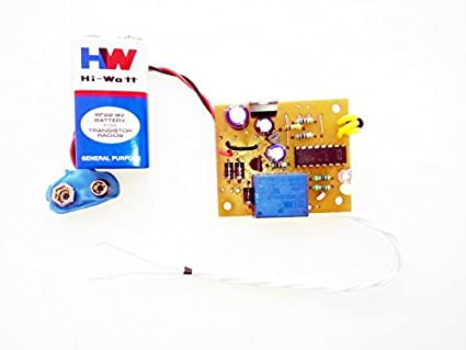 pke IR Remote On-Off Circuit with Remote Tester