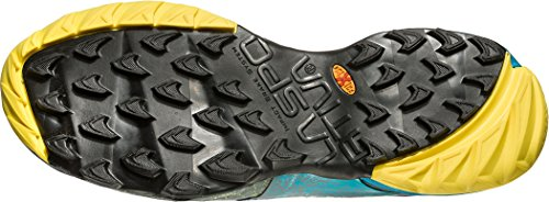 Chaussures De Course De Trail Mutant La Sportiva Mutant - Ss18 Ardoise Akasha / Tropic Blue Talla: 43