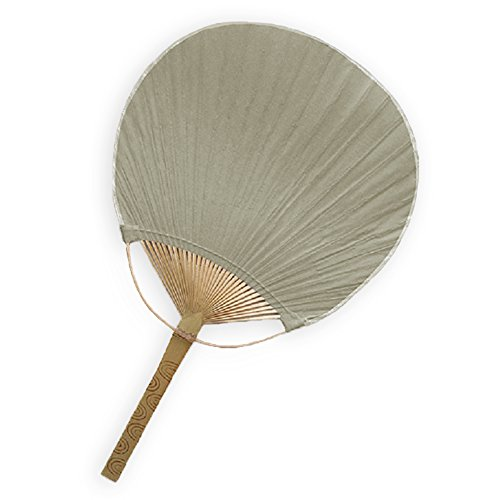 Weddingstar Paddle Fan, Charcoal