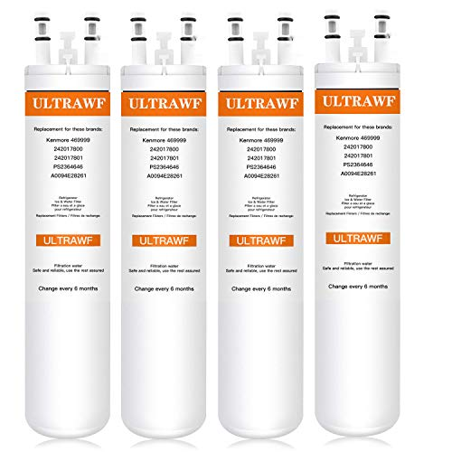 Price comparison product image Refrigerator Water Filter for Frigidaire 469-999-4PACK