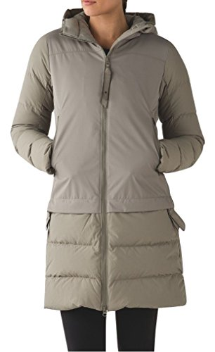 - Lululemon Cold As Fluff Subzero Parka 650 Fill Goose Down (12, Soft Earth)