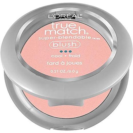 L'Oreal Paris True Match Super-Blendable Blush, Barely Blushing, 0.21 Ounce L' Oreal Paris K18002