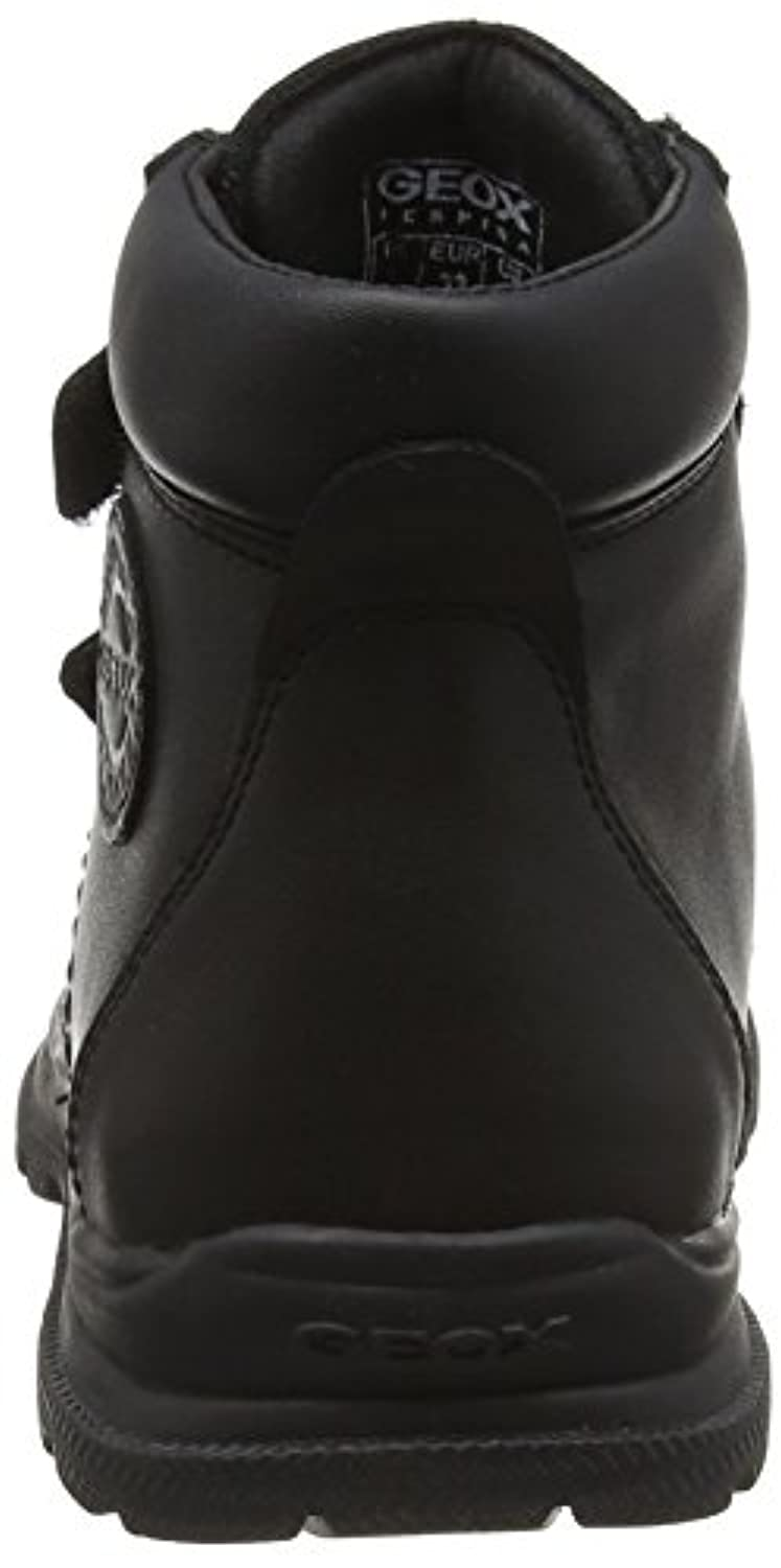 Geox Boys' Jr William A Chukka Boots, Schwarz (BLACKC9999), 33 UK
